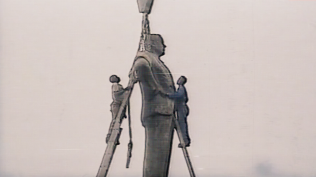 Still from Footnotes to Monuments by Counterspace (2020)